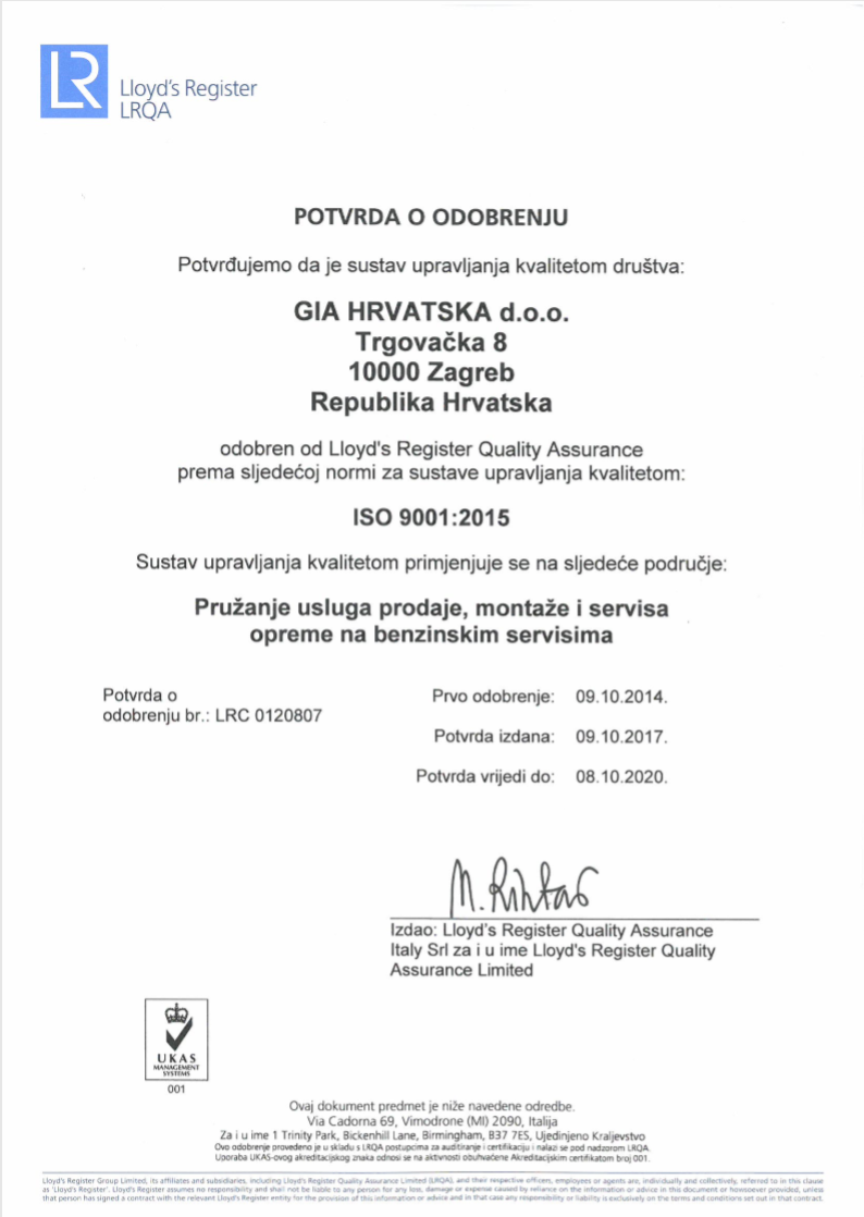 GIA Zertifikat TÜV - deutsch